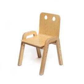 image-Luella Children's Chair (Set of 10) Isabelle & Max Colour: Natural