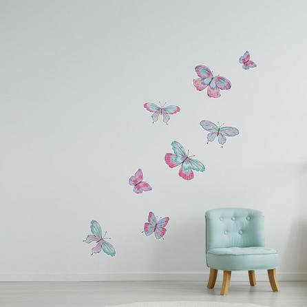 image-Butterfly Wall Stickers Pink