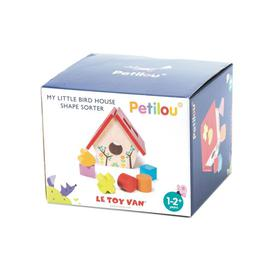 image-Le Toy Van My Little Bird House Shape Sorter