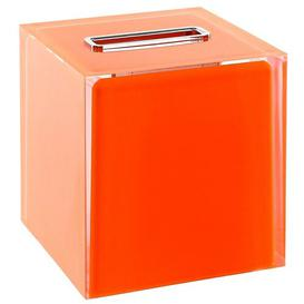 image-Picard Tissue Box Cover Mercury Row Finish: Orange
