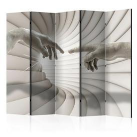 image-Strake 5 Panel Room Divider Ebern Designs