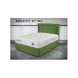 "image-Sleepeezee Perfectly British Regent 2600 Pocket Divan Set - King Size (5' x 6'6\""), 2+2 Continental Drawers, Sleepeezee_Weave Noir"