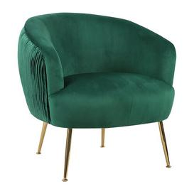 image-Willowood Tub Chair Canora Grey Upholstery Colour: Green