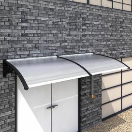 image-Bodnar W 2.5 x D 1m Door Canopy Sol 72 Outdoor