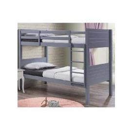 image-Napoli Wooden Children Bunk Bed In Grey