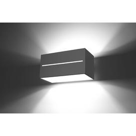 image-Alfrodull 2-Light Up & Downlight Mercury Row Fixture Finish: Grey