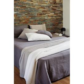 image-Serbelloni Bedspread Rosalind Wheeler Size: W250 x L250cm, Colour: String