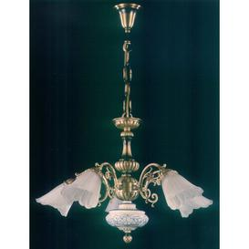 image-Degeorge 5-Light Shaded Chandelier Astoria Grand Finish: Pewter