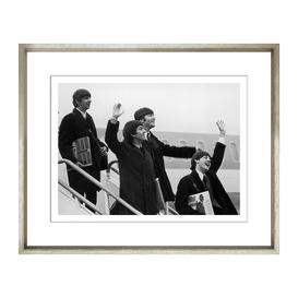 image-Trowbridge Gallery - Back From The U.S.A Framed Print - 48x58cm