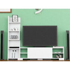 """image-Ingiburgh Entertainment Unit for TVs up to 42"""" Mercury Row"""