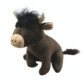 image-Highland Cow Doorstop - Brown