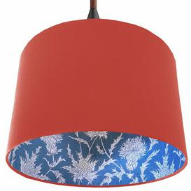image-30cm Cotton Drum Lamp Shade Ebern Designs Colour: Pink