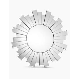 image-M&S Sunburst Large Round Mirror - 1SIZE - Clear, Clear
