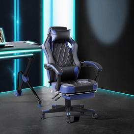 image-Orduna Gaming Chair Brayden Studio Upholstery Colour: Blue