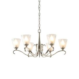 image-Sibdon 6-Light Shaded Chandelier Astoria Grand