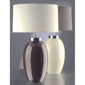 image-Elstead Victor (35VCS/LB37) Table Lamp in Cream Small