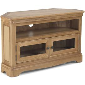 image-Georgina Natural Oak Corner TV Unit