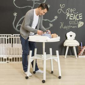 image-Changing Table BabyWok Colour: White