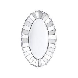 image-Libra Santiago Antique Oval Mirror
