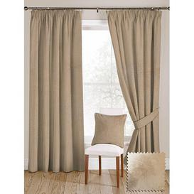 image-Ocilla Shiny Blackout Thermal Curtains Rosalind Wheeler Size per Panel: 228 W x 182 D cm