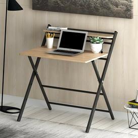image-Writing desk Symple Stuff Colour (Top/Frame): Natural/Black