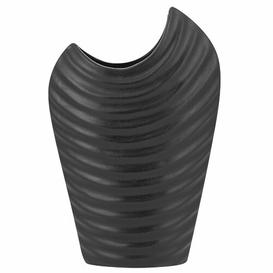 image-Jan Table Vase Bloomsbury Market Colour: Black