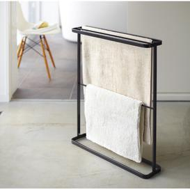 image-Bath Hanger 65cm Free-standing Towel Rack Yamazaki Finish: Black