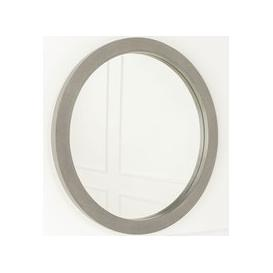 image-Ardleigh Faux Concrete Round Mirror -61cm Dia