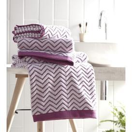 image-Ottilie Hand Towel Longshore Tides Colour: Cerise