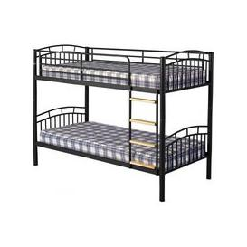 image-Ventura 3' Metal Bunk Bed in Black