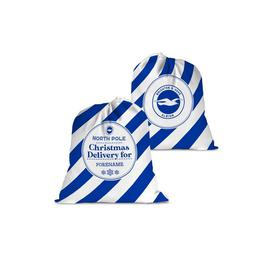 image-Personalised Brighton and Hove Albion FC Christmas Delivery Santa Sack