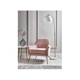 image-Flex Occasional Chair - Blush Velvet