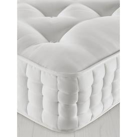 image-John Lewis & Partners Natural Collection Goat Angora 16400, Single, Medium Tension Pocket Spring Mattress