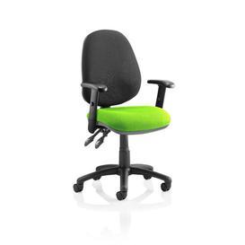 image-Ortez Ergonomic Office Chair Brayden Studio Arms: Adjustable, Colour: Myrrh Green