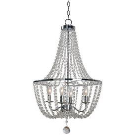 image-4-Light Crystal Chandelier