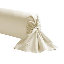 image-Eidson Cotton Pillowcase Ebern Designs Colour: Meringue, Size: 23 x 43 cm