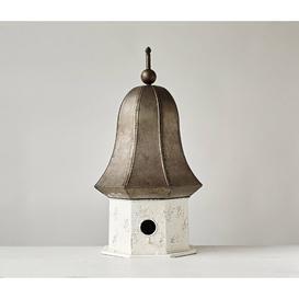 image-Decorative Free Standing Bird House Creative Co-Op