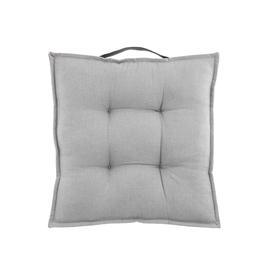 image-Cotton Two Tone Seat Pad Grey