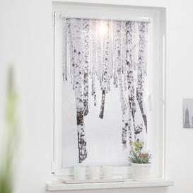 image-Birch Wood Blackout Roller Blind Union Rustic