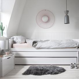 image-Ivan Day Bed Triple Sleeper in White
