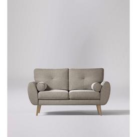 image-Swoon Egle Two-Seater Sofa in Llama Smart Wool With Light Feet