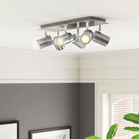 image-Lacey 6-Light Ceiling Spotlight Zipcode Design Finish: Chrome