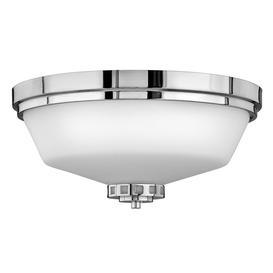 image-HK/ASHLEY/F BATH Ashley 3 Light Polished Chrome Bathroom Flush Light