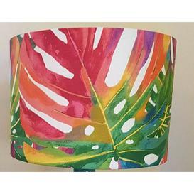 image-Cotton Drum Lamp Shade