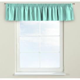 image-Loneta Curtain Pelmet Dekoria Size: 130cm W x 40cm L, Colour: Mint green