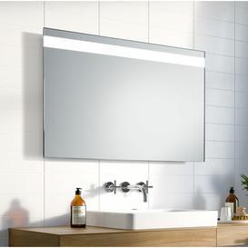 image-Norah LED Illuminated Bathroom Mirror Wade Logan Size: 65cm H x 120cm W x 3.2cm D