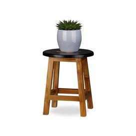 image-Lyons Pedestal Plant Stand Brambly Cottage Size: 35cm H x 30cm W x 30cm D