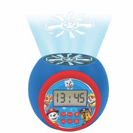 image-Paw Patrol Childrens Projector Clock With Timer
