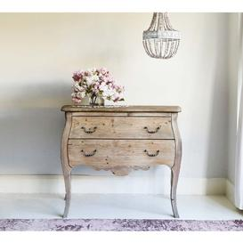 image-Chateauneuf 2-Drawer Chest - Pine Drawers