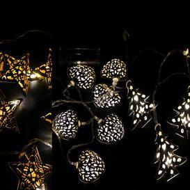 image-3 Piece 10 Light LED Novelty String Light Set Sol 72 Outdoor